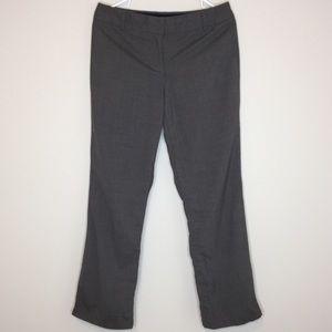 J. Crew Favorite Fit Gray Wool Blend Dress Pant 8